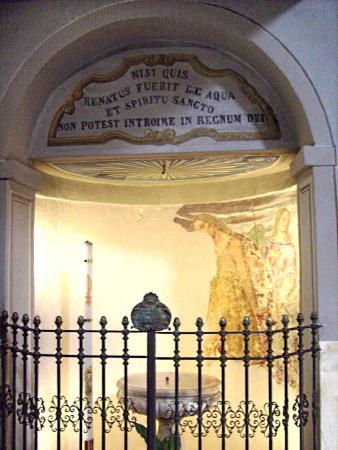 Chiesa San Bovio: la cappella laterale