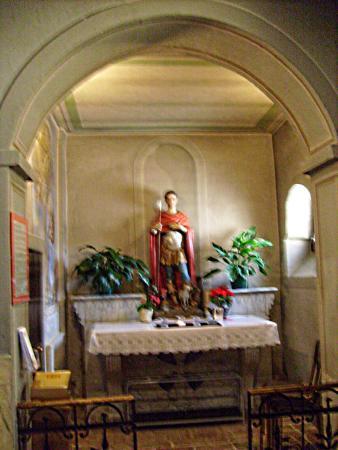 Chiesa San Bovio: la statua di San Bovio