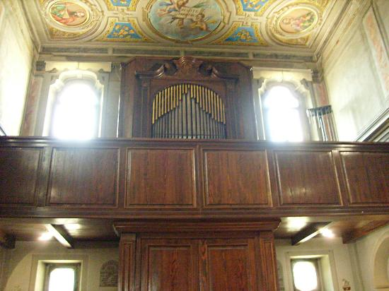 Chiesa San Bovio: L'antico organo