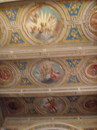 Chiesa San Bovio: Il soffitto