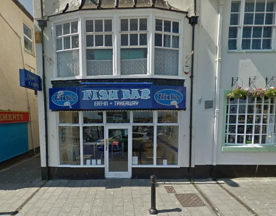 Nick's Fish Bar: Exterior View