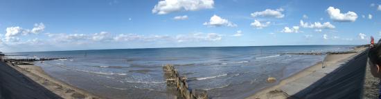 Bacton beach