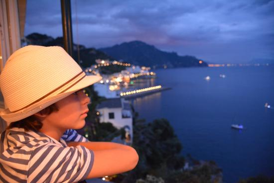 Santa Caterina Hotel: That view!