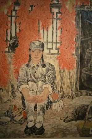 """National Art Museum Of China : """"The Red Song"""""""