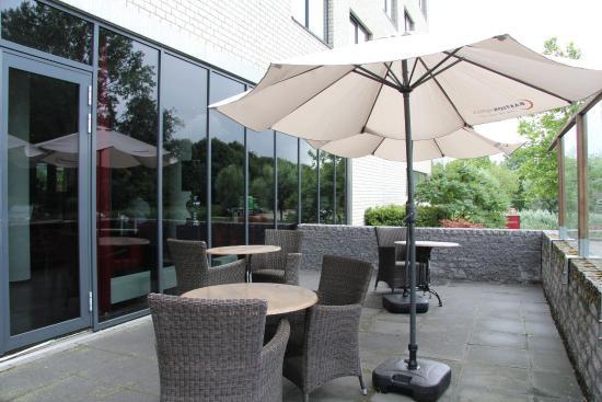 Bastion Hotel Rotterdam Alexander: Terrace