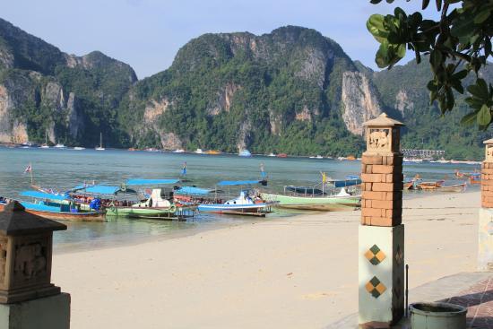 Phi Andaman Beach Resort View From Restaurant