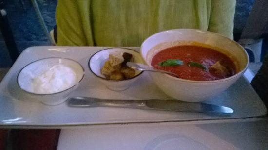 Obica Mozzarella Bar - Campo dei Fiori: Soupe à la tomate
