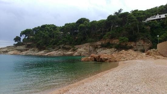 La playa de Tamariu