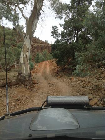 """Flinders Ranges National Park: """"Sky trek """" 4 wheel drive track"""