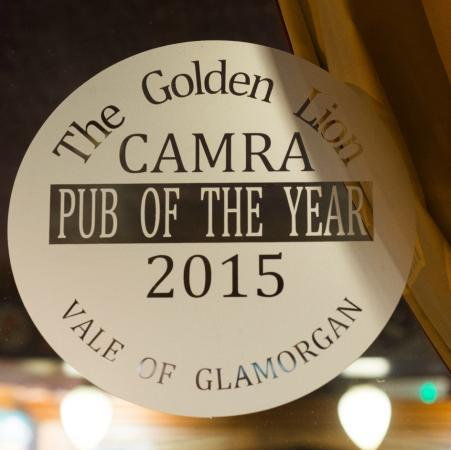 The Golden Lion: Pub of the Year !