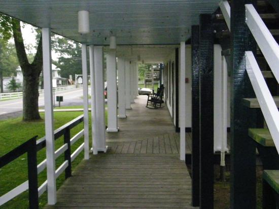 Orkney Springs, VA: A porch.