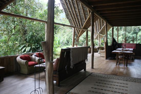 El Monte Sustainable Lodge: The main house