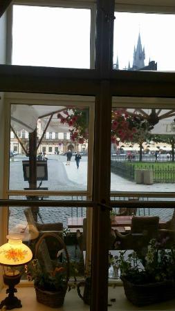 Hotel Cerna Liska: vista desde el comedor