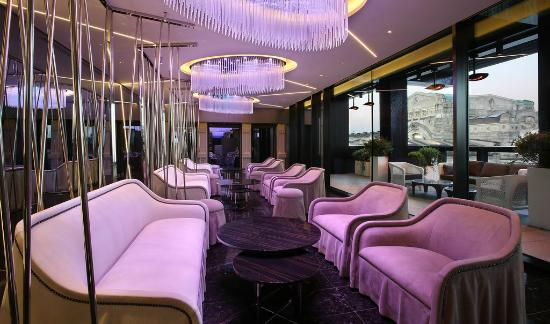 Terrazza Gallia rooftop bar - Picture of Excelsior Hotel Gallia, a ...