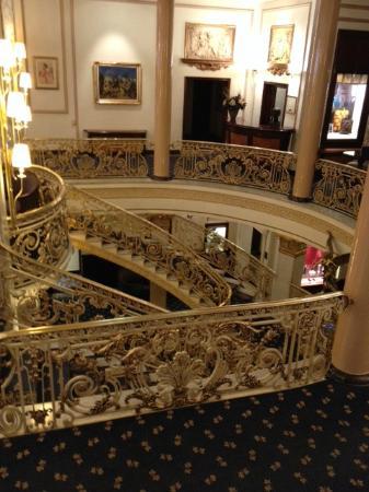 Hotel El Avenida Palace: prachtige binnenkomer
