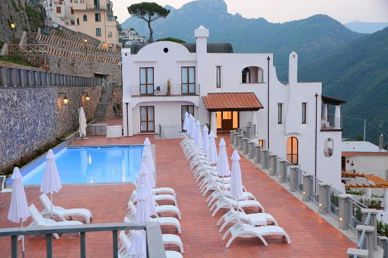 Pool picture of villa piedimonte ravello tripadvisor for Hotels in ravello with swimming pool