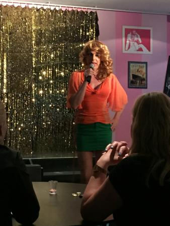 Hamburger Mary's: Our lovely drag performer