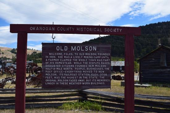 Oroville, WA: History