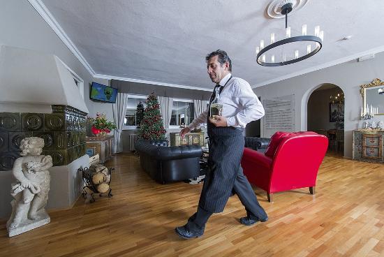 Family Hotel Gran Baita: L'accogliente salotto