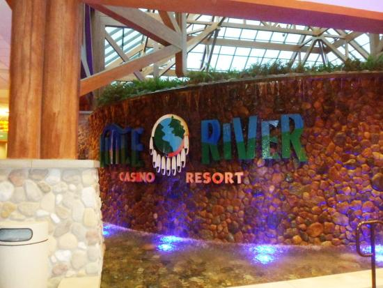 Little River Casino Resort: Little Rivers sign