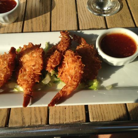 Hacketts Cove, Kanada: Coconut shrimp