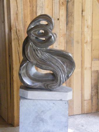 Cap-Saint-Ignace, Kanada: La parturiente - marbre brun d'Ontario