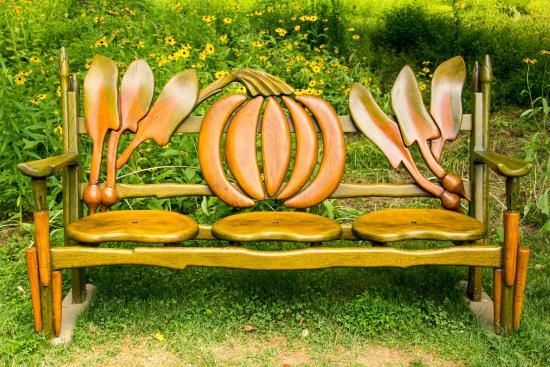 Wayne, PA: Wood Art on the Grounds