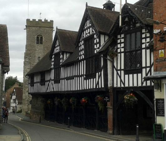 The Fox Inn: The Guildhall Much Wenlock