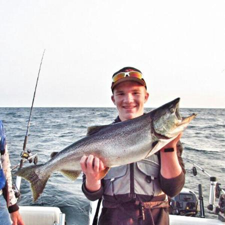 Fish tales charters fish creek wi omd men tripadvisor for Fish tales charters