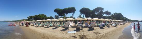 Punta Ala, Italy: spiaggia