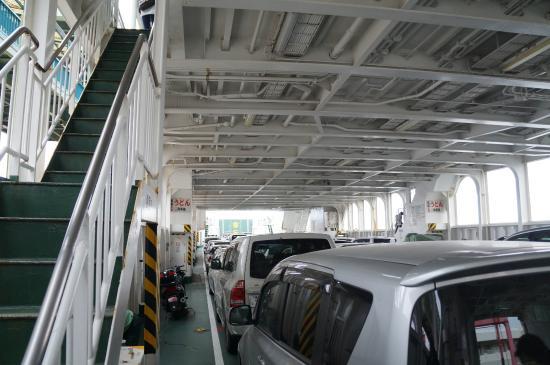 鴨池フェリーは通勤快速な船 - ...