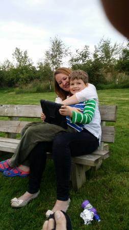 Llanreithan, UK: Fantastic time in Dingley Dell Yurt