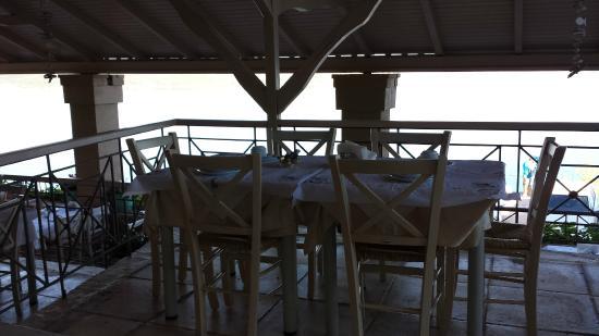 Hotel Philip: Dettaglio dello spazio per la colazione