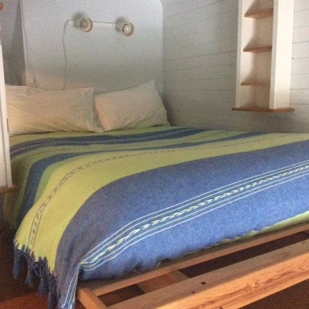 Paddlers Inn: Comfy loft bed