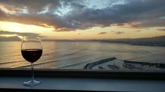 Gordon's Bay, Sydafrika: Sunset view from lounge
