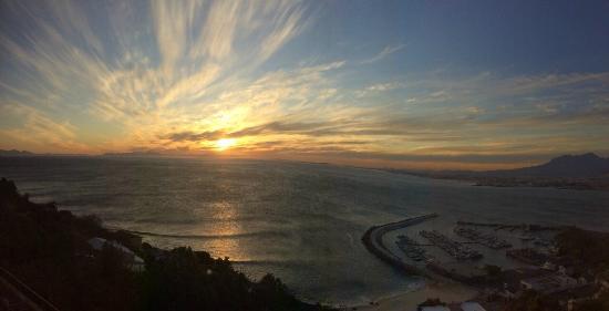Gordon's Bay, Sydafrika: sunset bliss