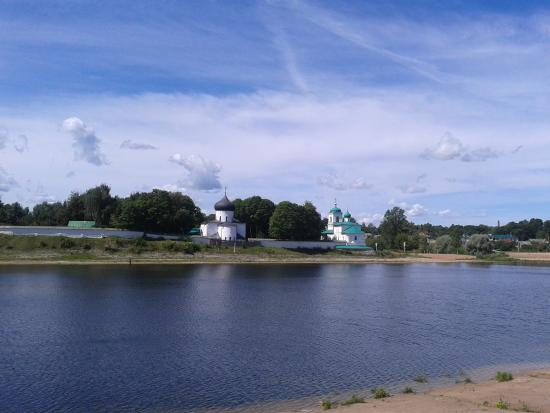 Pskov Oblast, Rússia: река Великая Псков