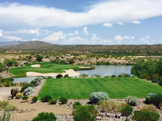Wickenburg, AZ: 13th hole - Big Water