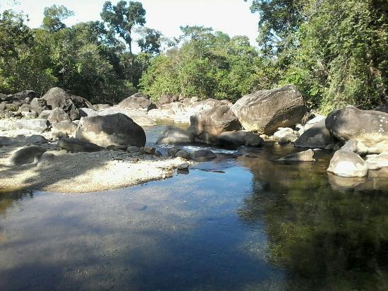 Cachoeira do Paraíso no Parque de Jureia-Itatins