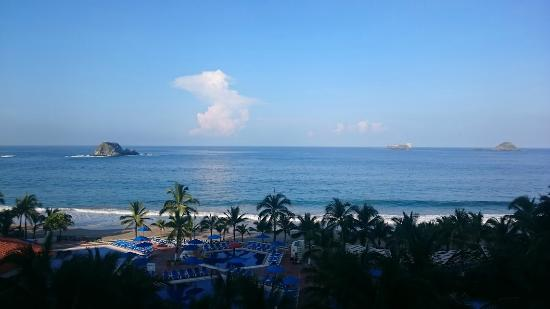 Hotel Barcelo Ixtapa Beach Resort: Gran vista
