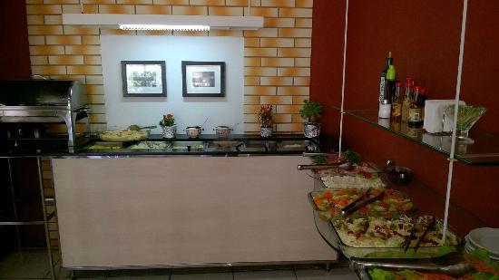 Saudades, SC: Saladas diversas