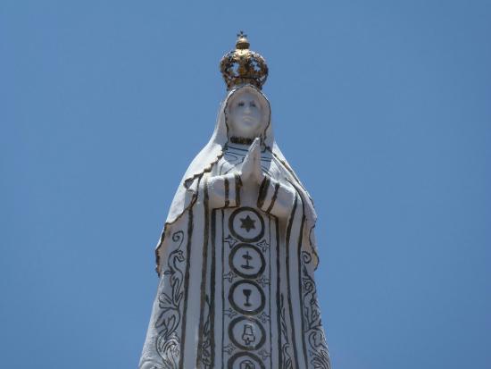 Basílica Virgen del Valle: Virgen a cielo abierto