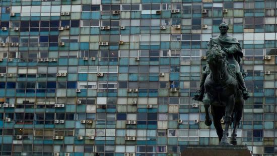 Plaza Independencia: Prédio