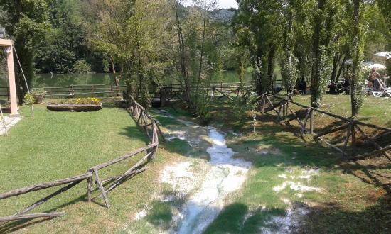 Cascatelle naturali foto di terme di sant 39 egidio terme - Suio terme piscine ...