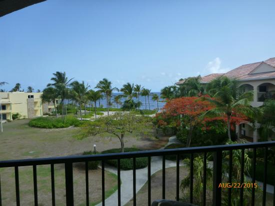 Pelican Cove Condos: Gallery view of ocean and grounds