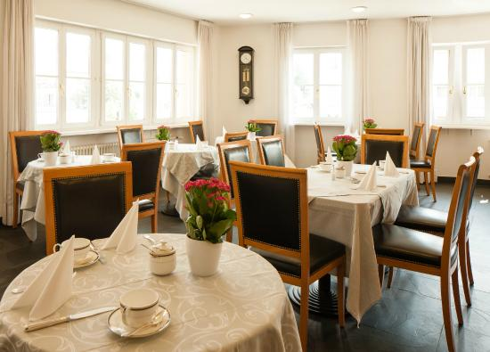 Hotel Goldene Rose: Sala colazione