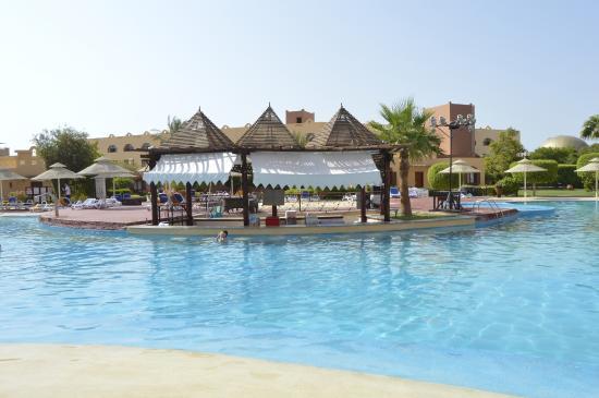 Nubian Island Hotel: piscina