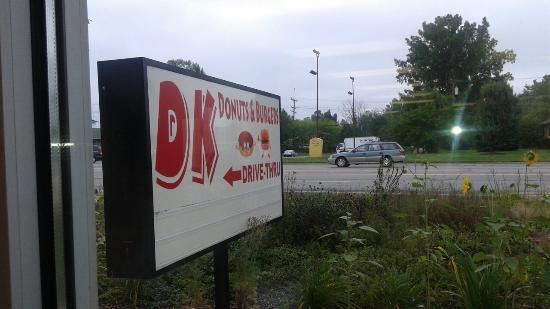 DK Donut Burger