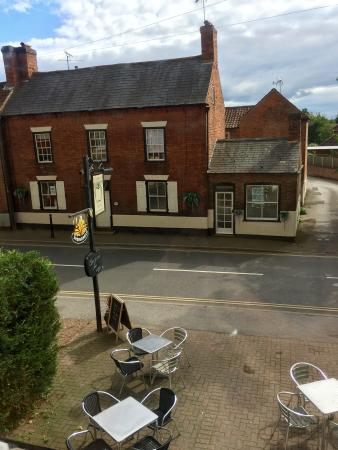 The Bramley Apple Inn: View from our room at the Bramley Apple
