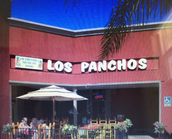 Данвилл, Калифорния: Los Panchos Restaurant from Outside